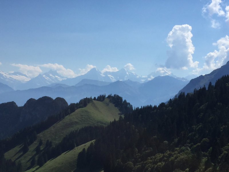 Eiger, Mönch, und Jungfrau