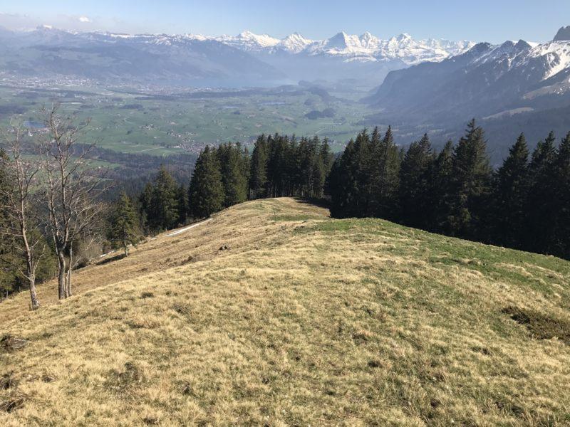 Abfahrt nach Wattenwil
