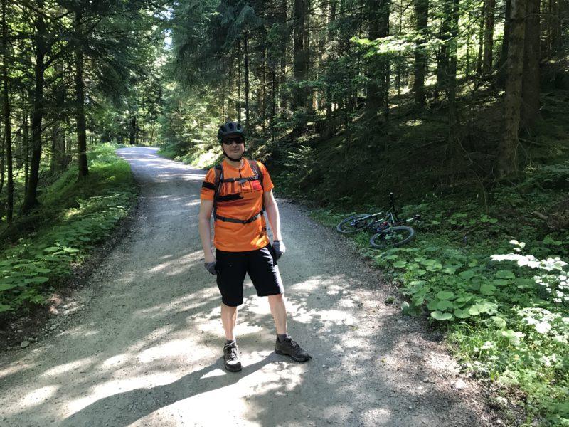 FlowTrailRider im Wald