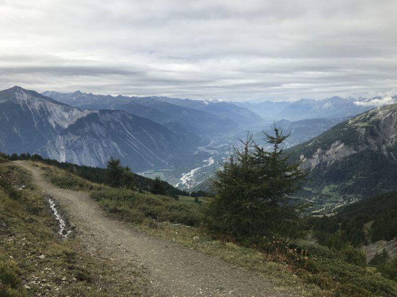 Torrent Trail und Rhonetal