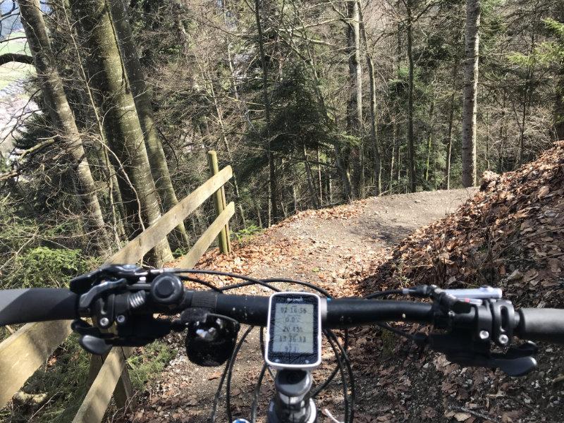 Wartenstein Trail - Einstieg