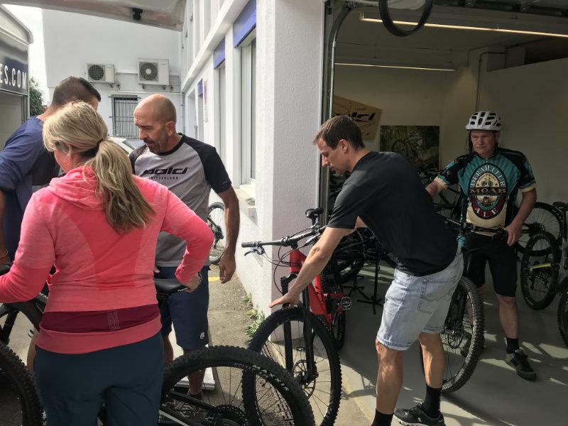 Bold Bikes Assembling