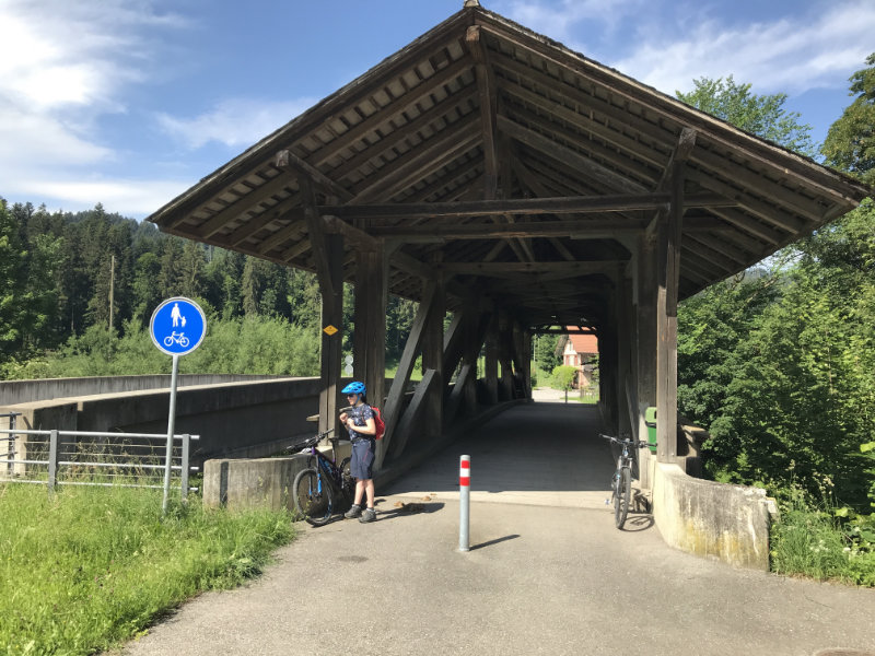 Holzbrücke Dieboldswil