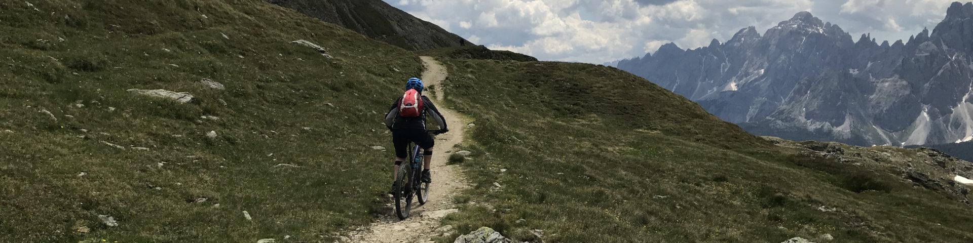 GravityBienchen on Trail