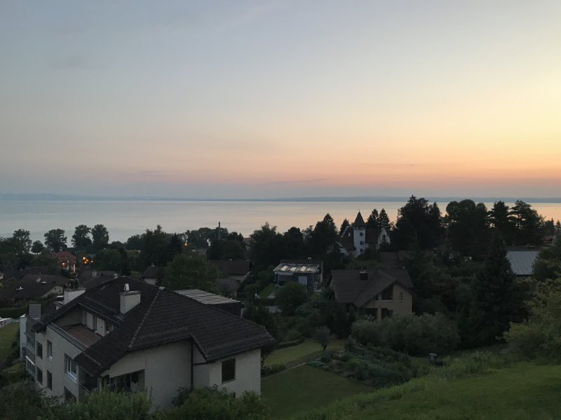 Sunrise over Bodensee
