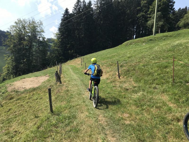 RacingMike on Trail