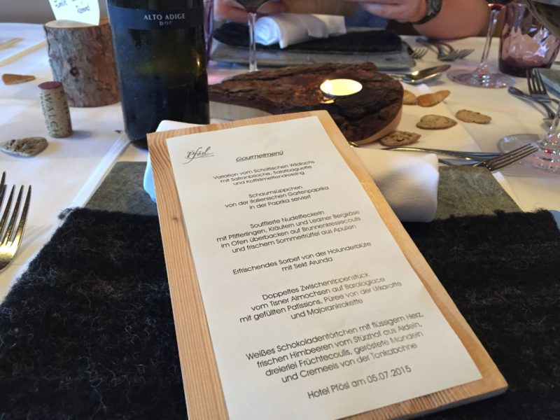 Gourmet-Menü @Pfösl