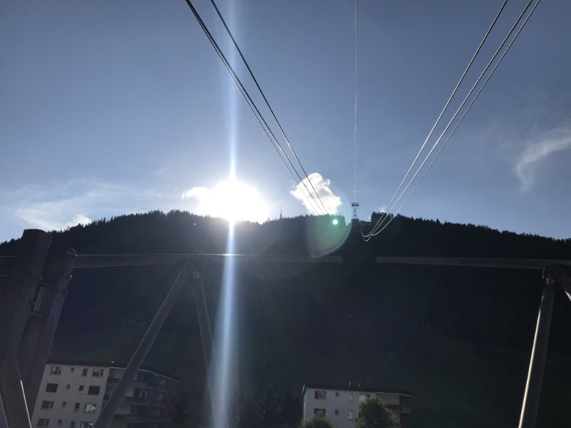 Uphill zum Jakobshorn