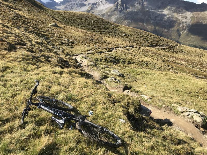 Scott Genius on Alps Epic Trail