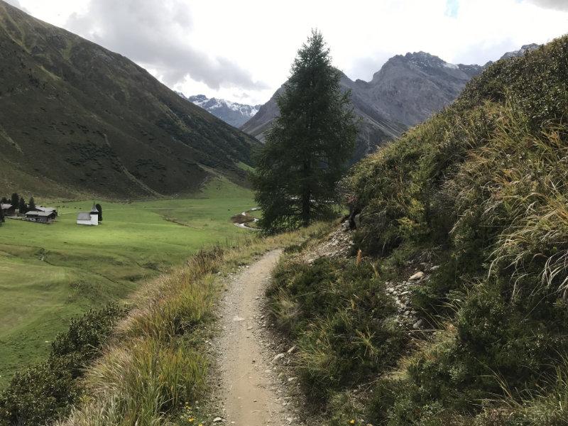 From Sertig up to Aebirügg