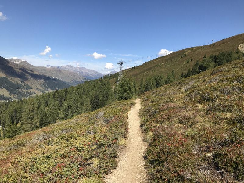 Trail to Ischalp