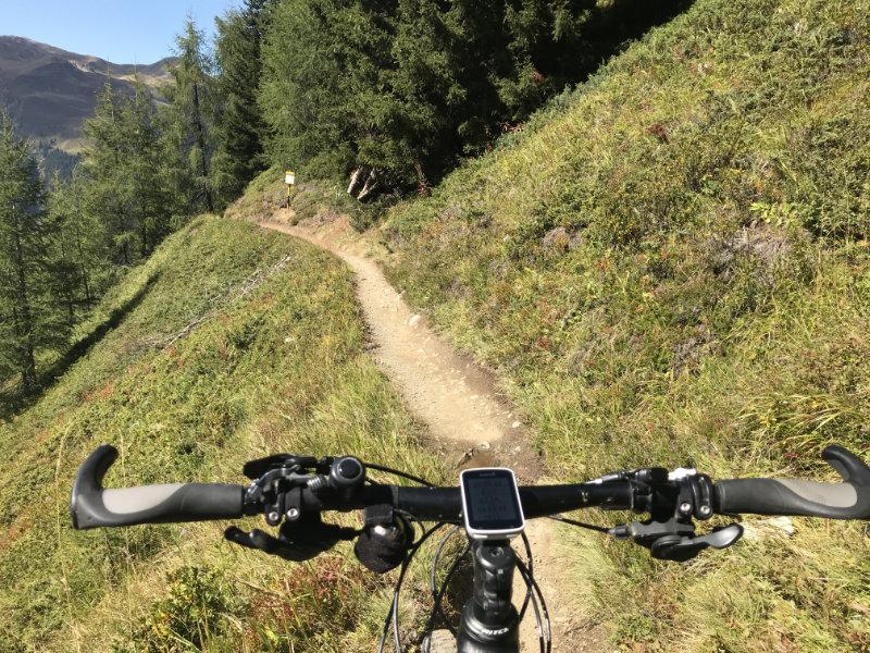 Wow, what a trail!