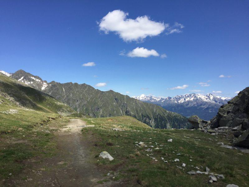 Richtung Weissenbach Tal
