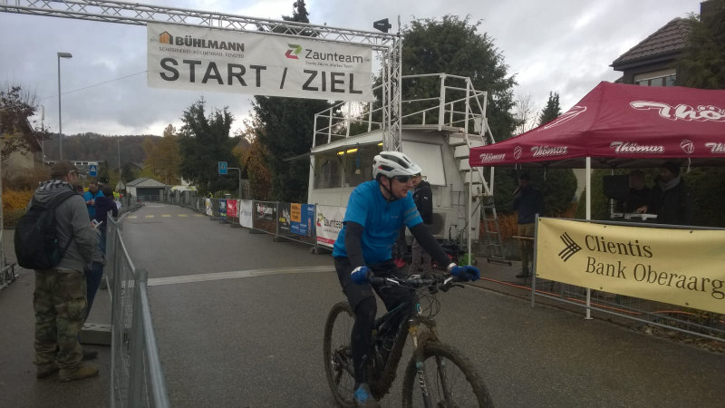 Reached the finish...!