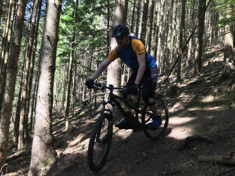Lucien on da Trail