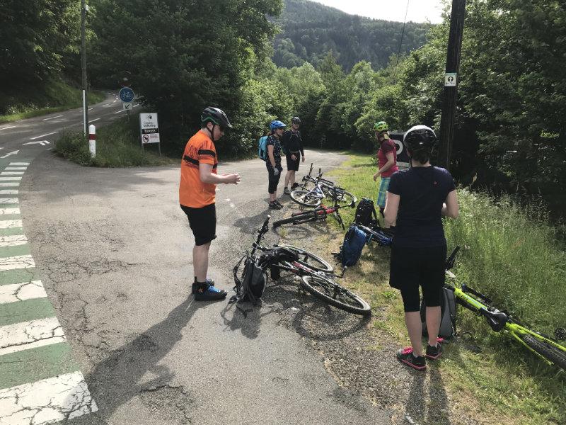 Start beim Camping du Schlossberg
