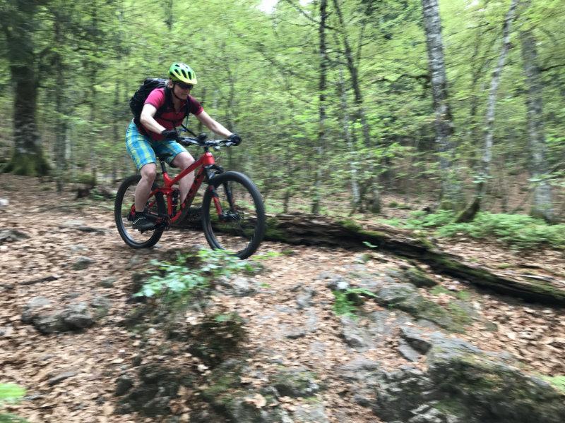 Judith on da Trail