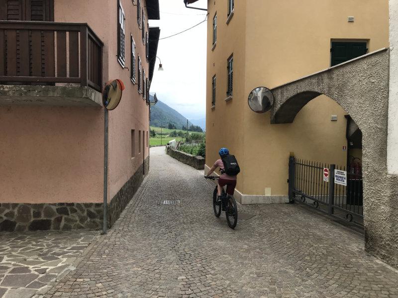 Radweg durch Pellizzano