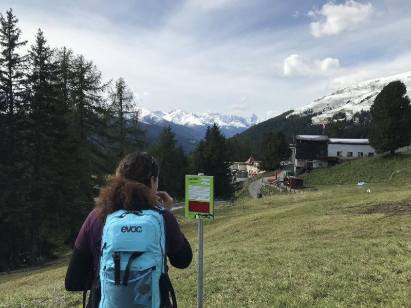 UphillBienchen on Schatzalp