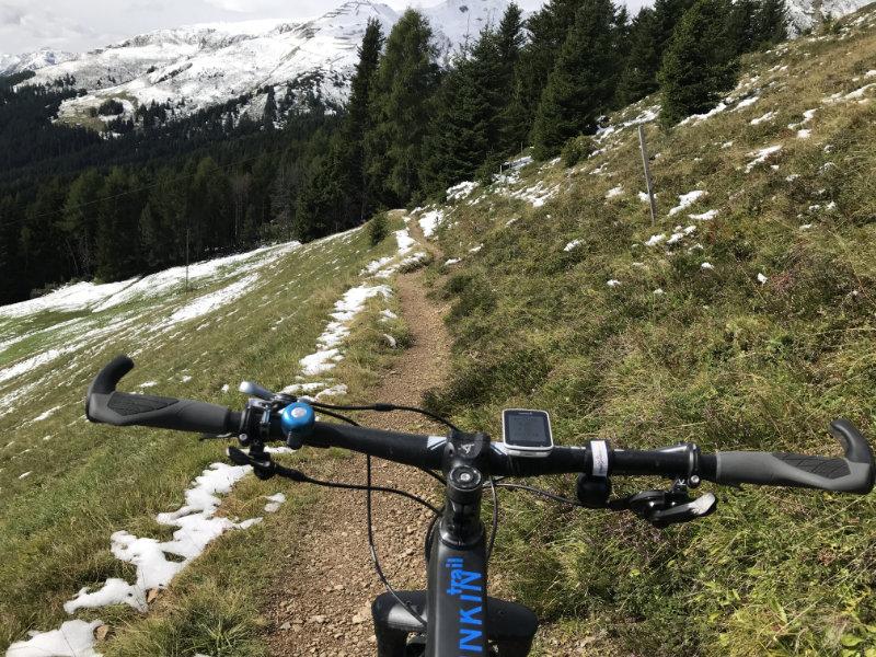 Trail to Alpinum Botanischer Garten