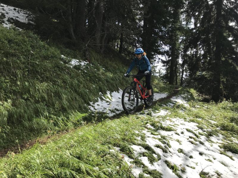 GravityBienchen on da Alpinum Trail
