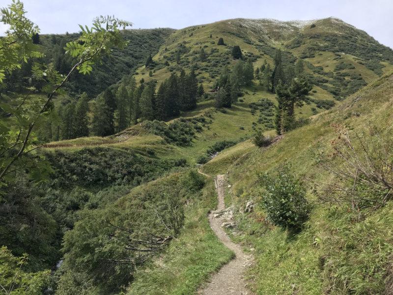 The Erb to Stafelalp-Trail