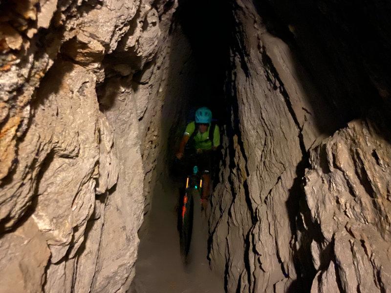 Ruedi in da Tunnel