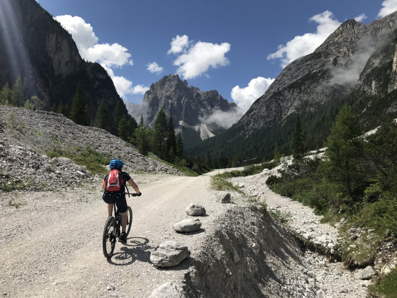 Bike at Dolomites