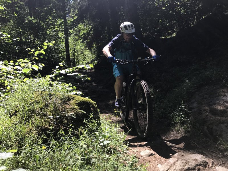 GravityMarc on da Folgàrida Trail
