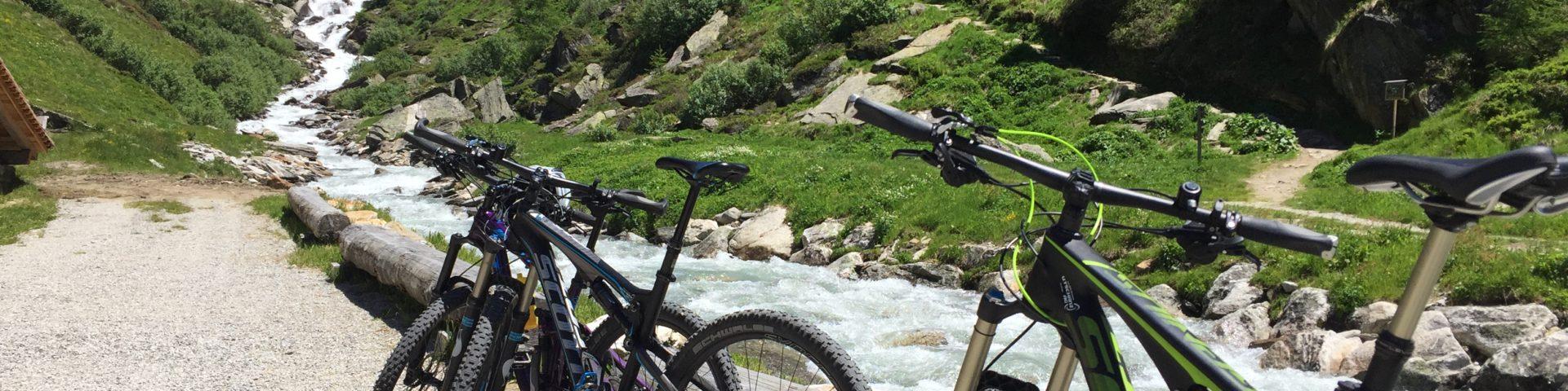 Bikes at Ahrntal